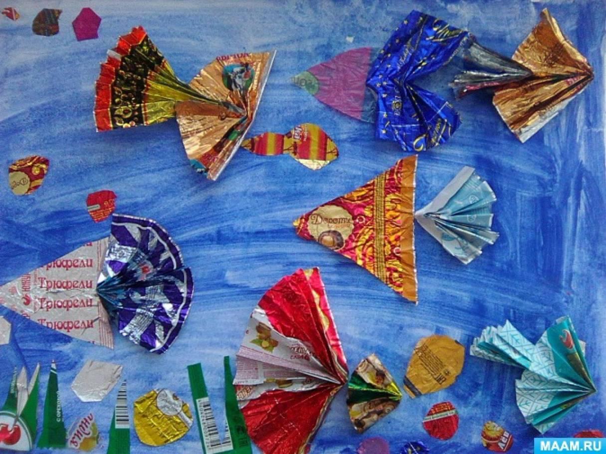 Валентине, открытки из фантиков от конфет своими руками