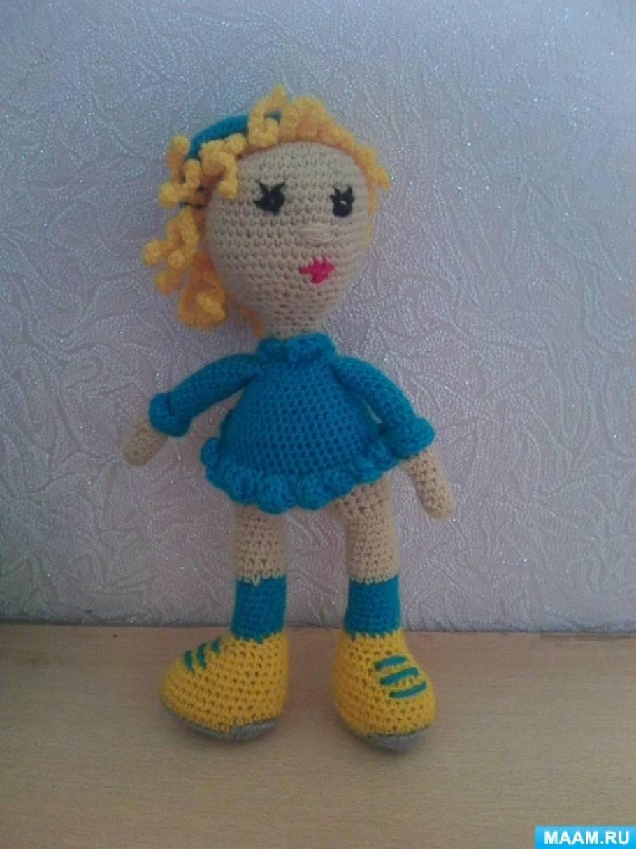 вязаные игрушки и пособия для детей схемы и описания для вязания