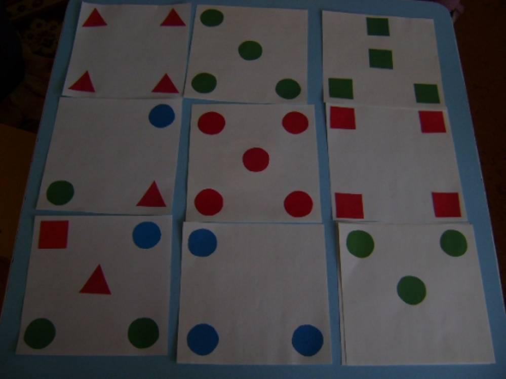 «Геометрическая мозаика». Дидактическая игра для детей 4–5 лет