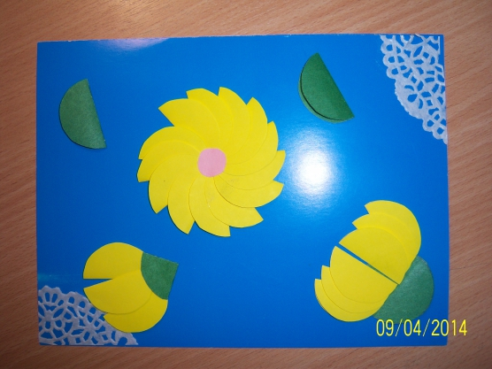 План конспект урока открытка к 8 марта