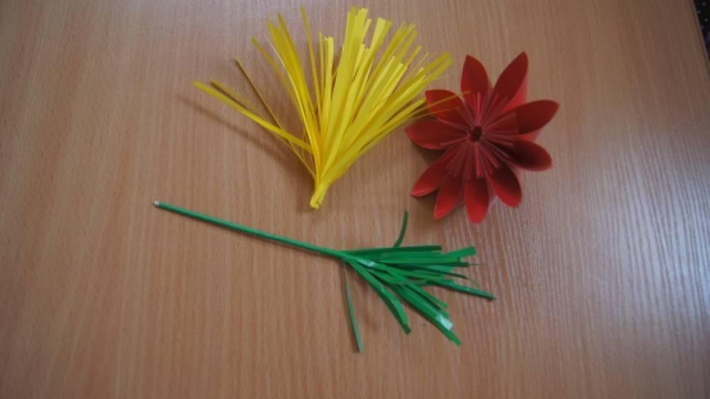 Модульное оригами каллы