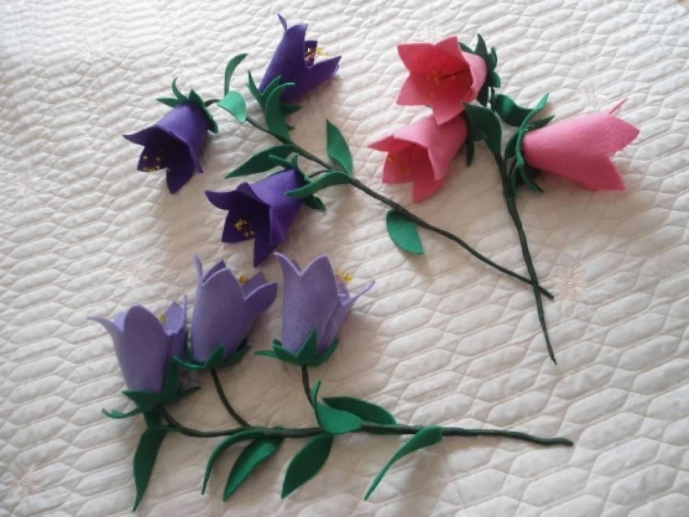 Поделки цветы колокольчики своими руками 6