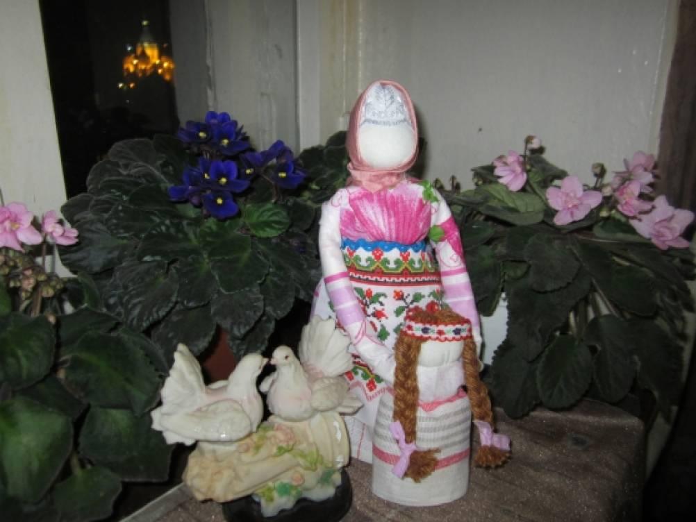 Мастер-класс смотреть онлайн: Мастерим народную куклу Берегиню   Журнал Ярмарки Мастеров