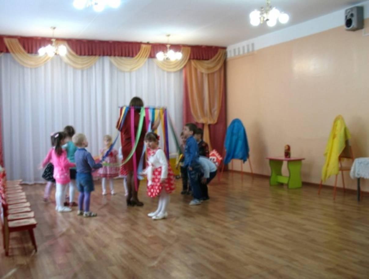 знакомство детей с русской матрешкой цель