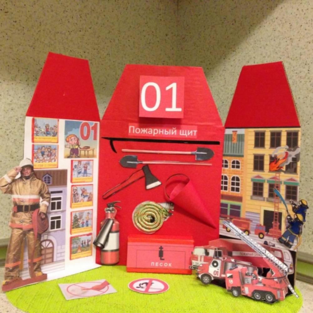 знакомство детей с правилами пожарной безопасности