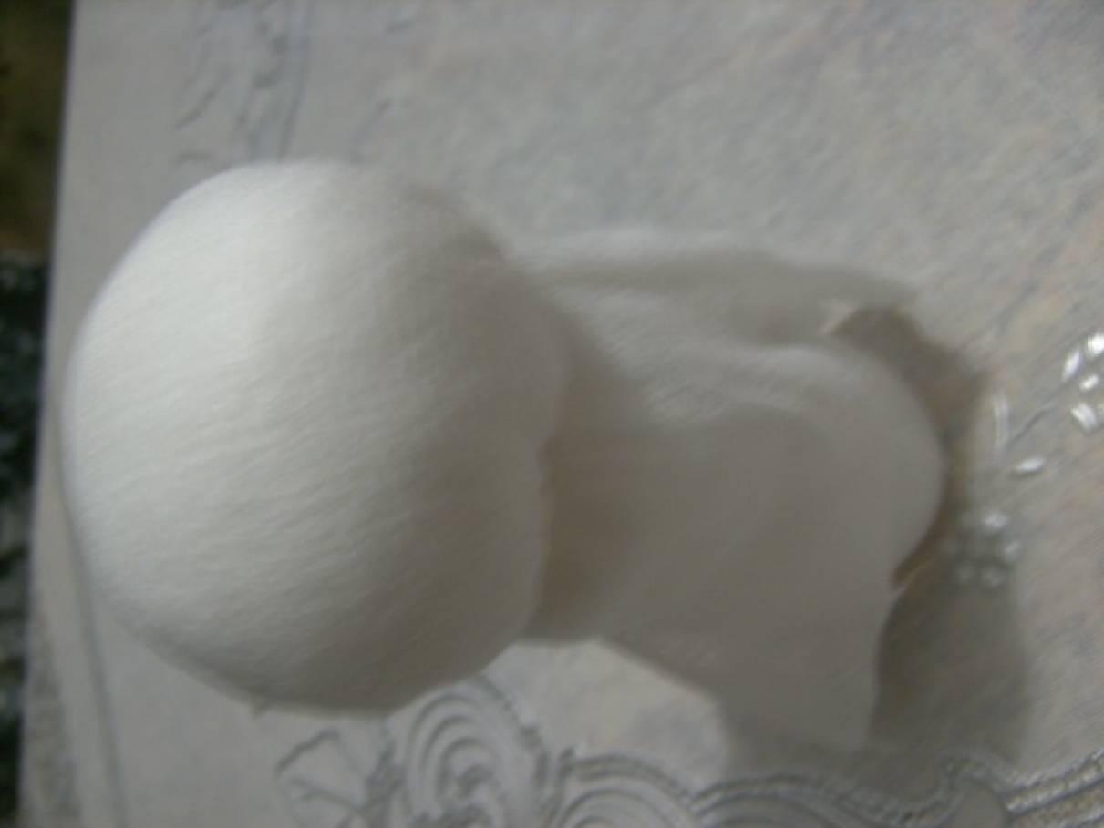 снеговик из изолона своими руками