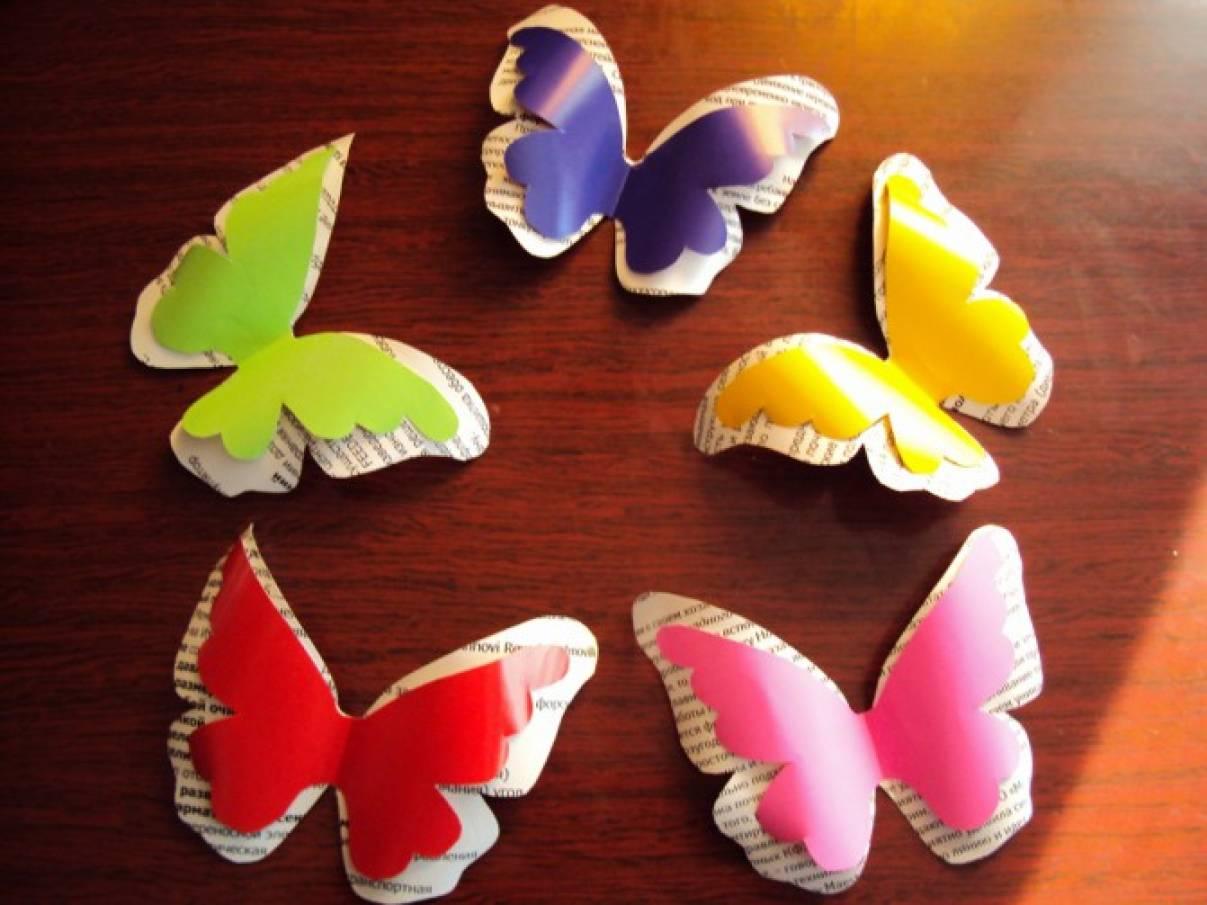 Поделки бабочек своими руками 72