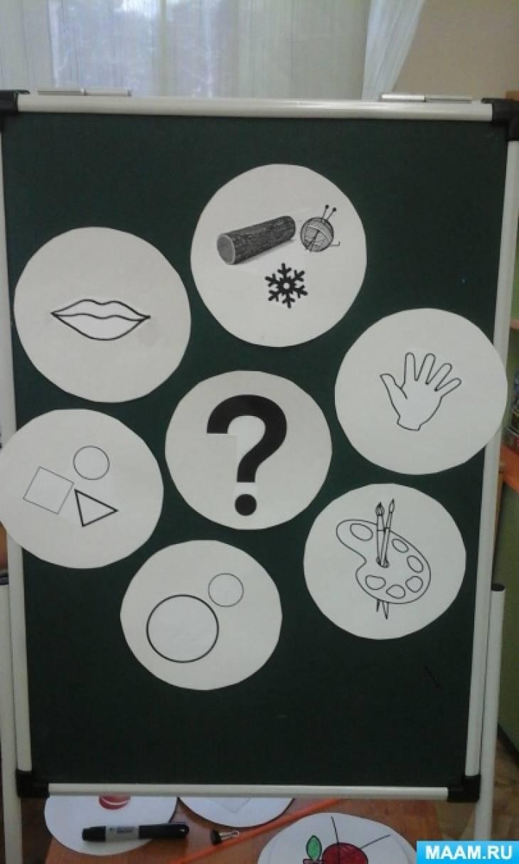 Конспект занятия по развитию речи в подготовительной группе «Веселые загадки»