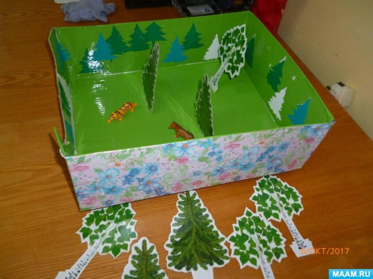 Экологическая игра для детей младшей группы «Маленький лесовод»