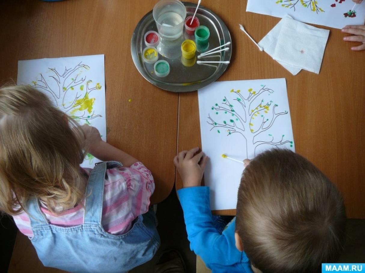 Рисунки о осени которые нарисовали дети