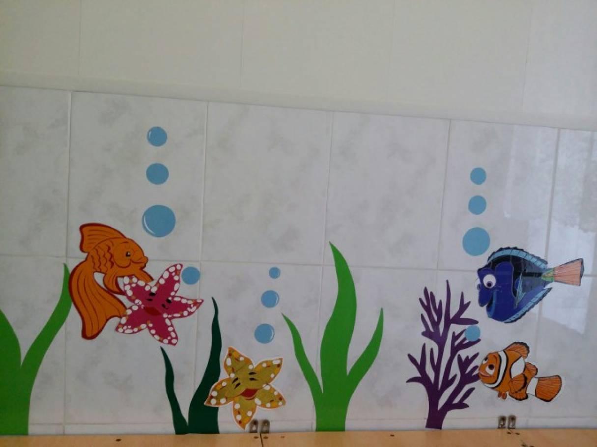 Оформление туалета в детском саду своими руками 39