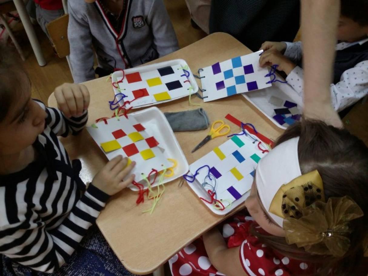 знакомство детей с орнаментом