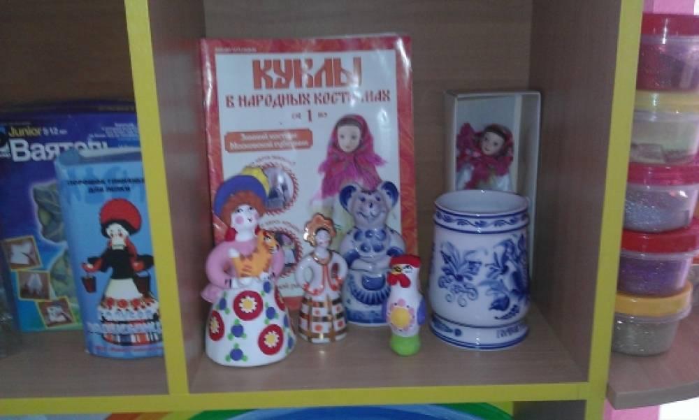 знакомство детей с декоративно прикладны