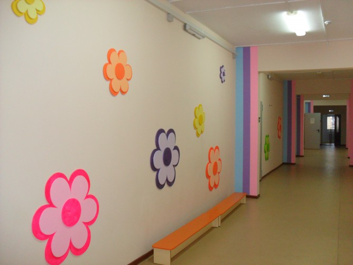Оформление зала школы своими руками