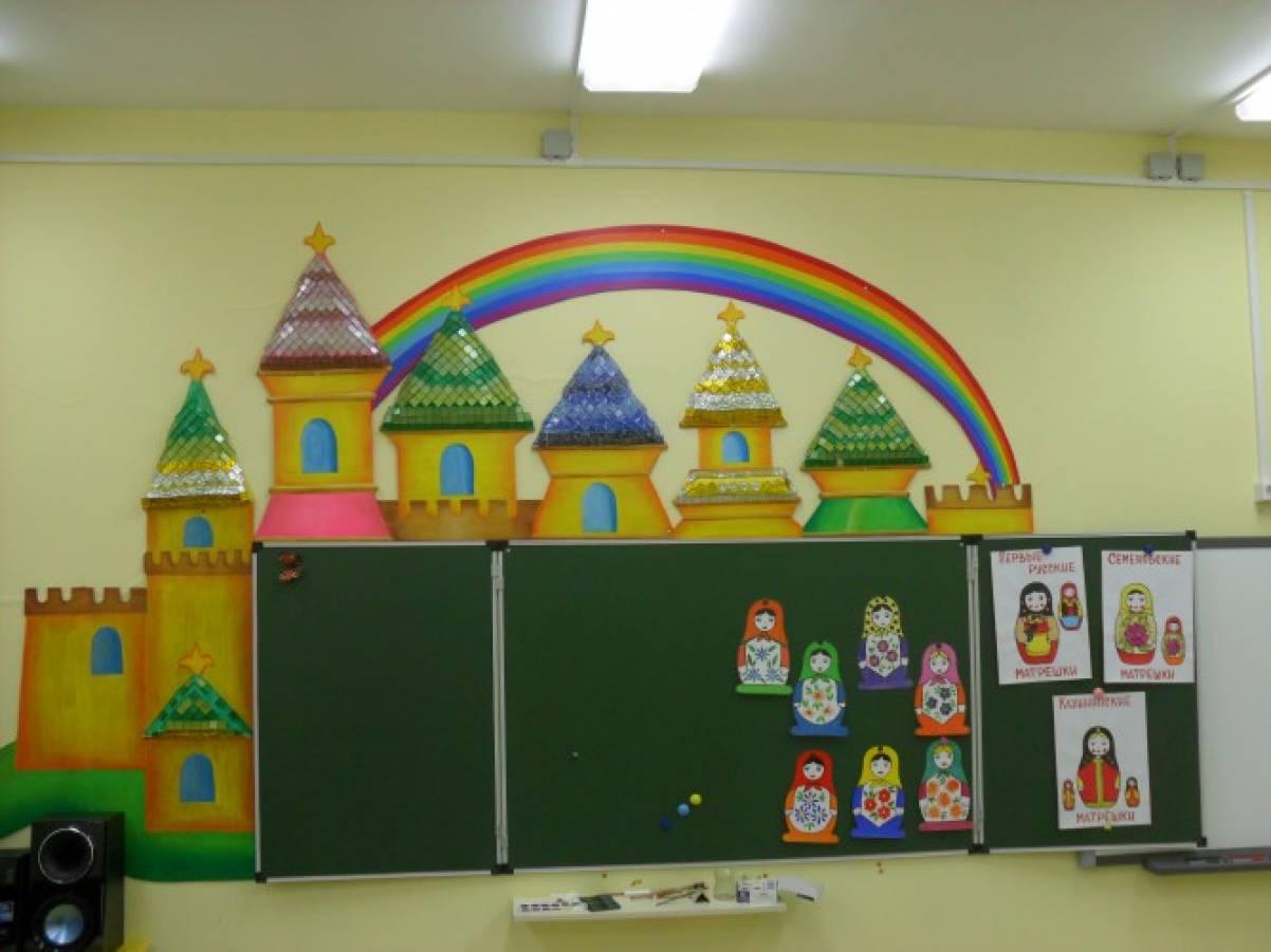 Оформление детских садов с фото своими руками 418