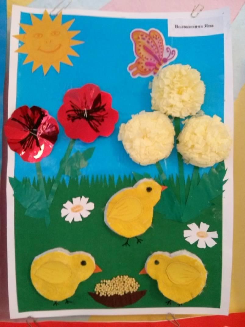 Поделки в детский сад на тему лето своими руками 3-4 лет 53