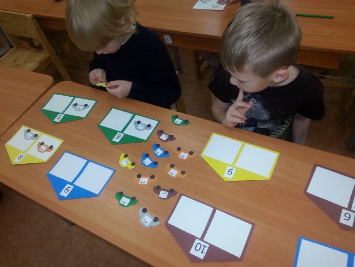 Дидактические игры по фэмп в старшей группе своими руками