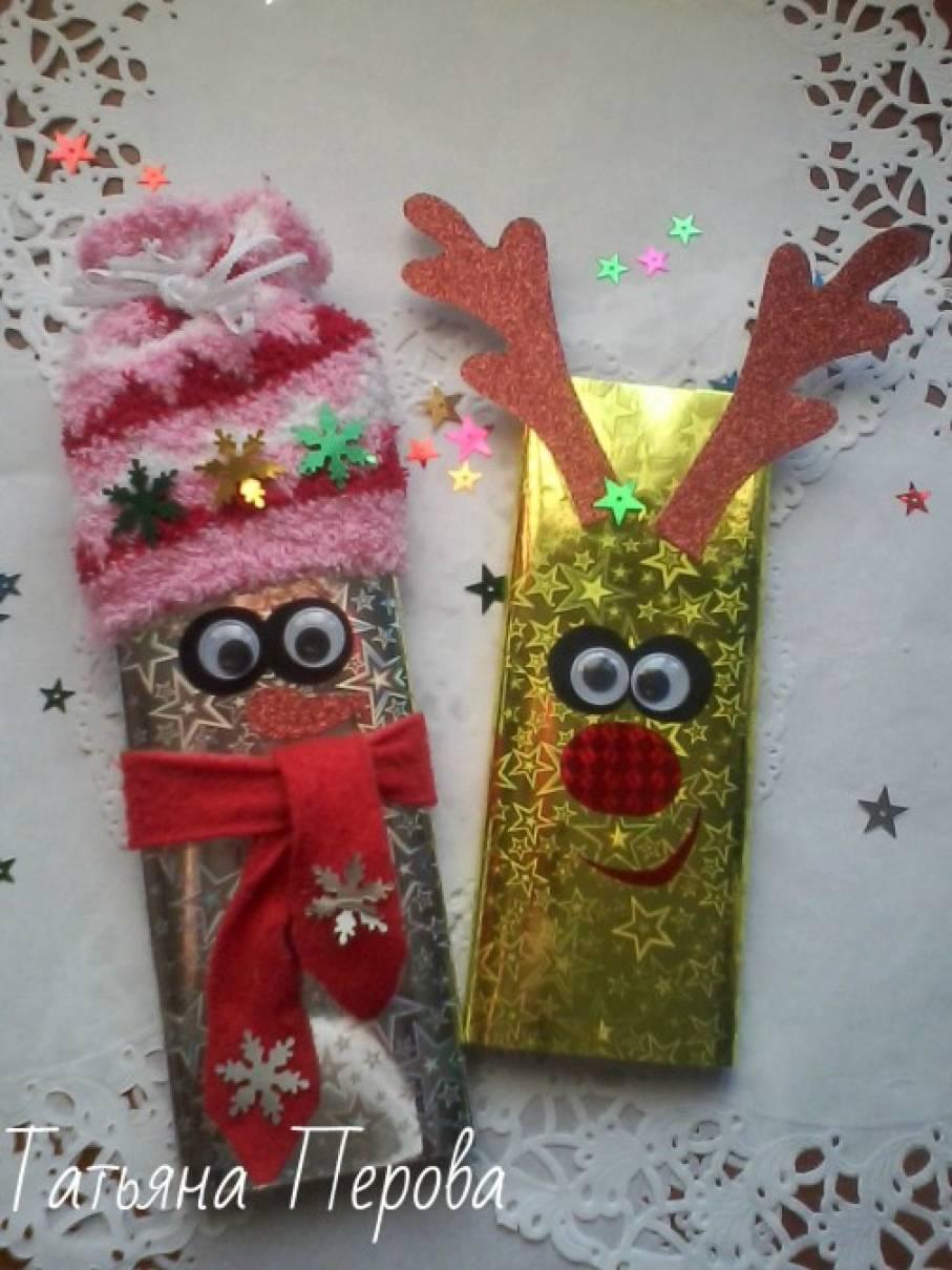 Мастер-класс «Подарок-сюрприз сладкоежкам»