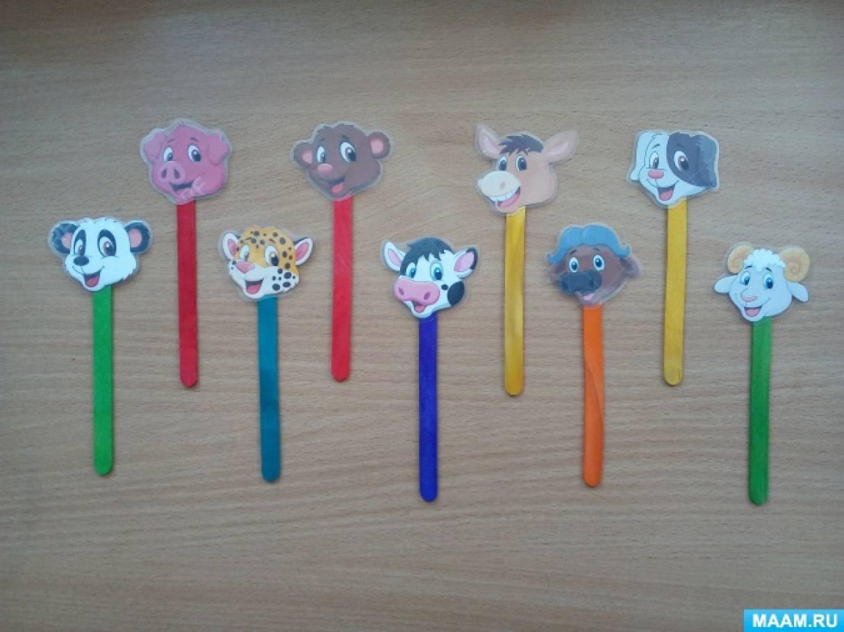 Поделки животные из палочек от мороженого