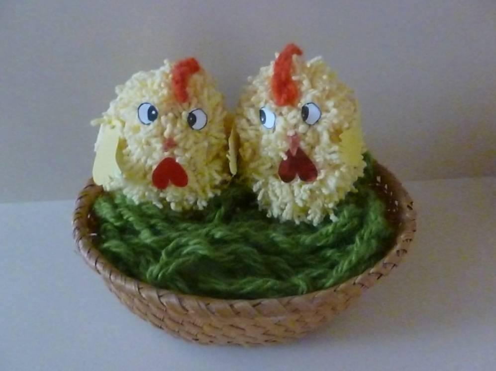 Пасхальные цыплята
