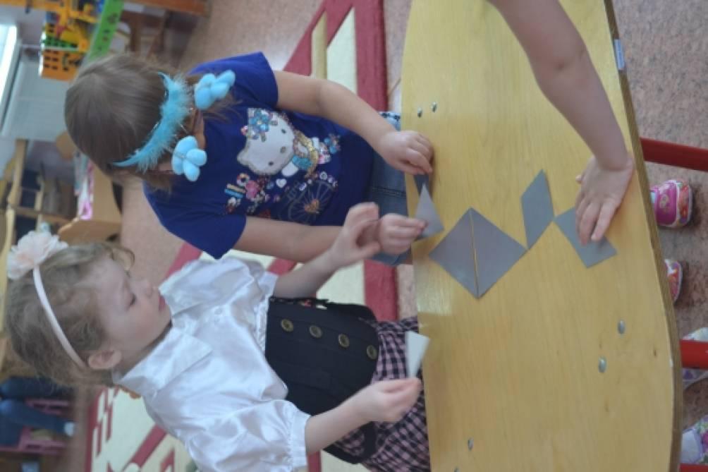 знакомство детей со сложными цветами