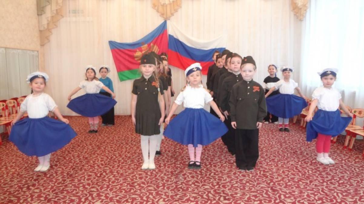 Фотоотчёт об открытии месячника военно-патриотического воспитания