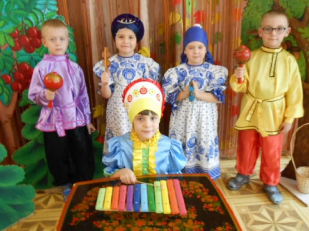 занятие в детском саду знакомство с музыкальными инструментами