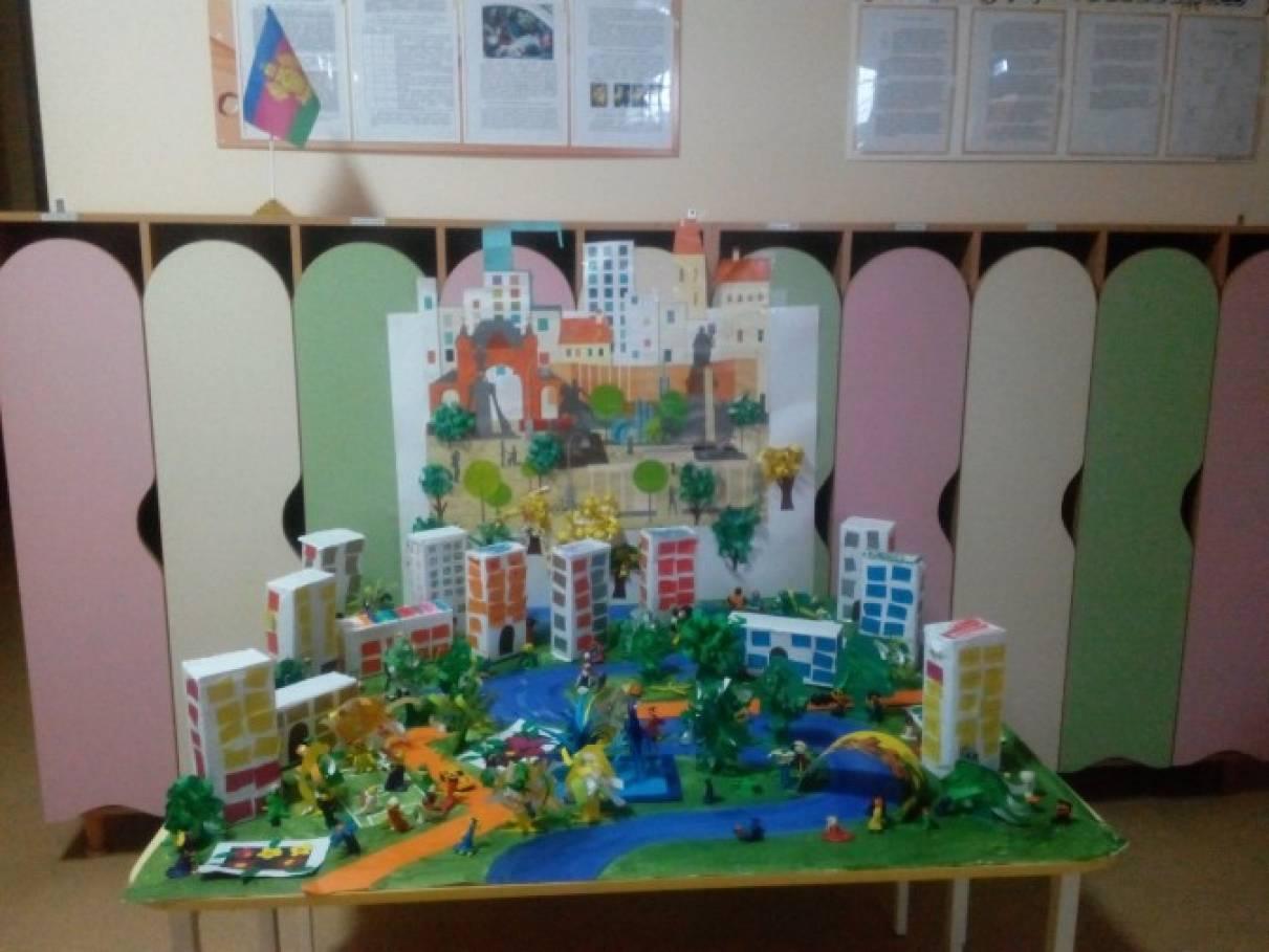 Поделки в детском саду ко дню города