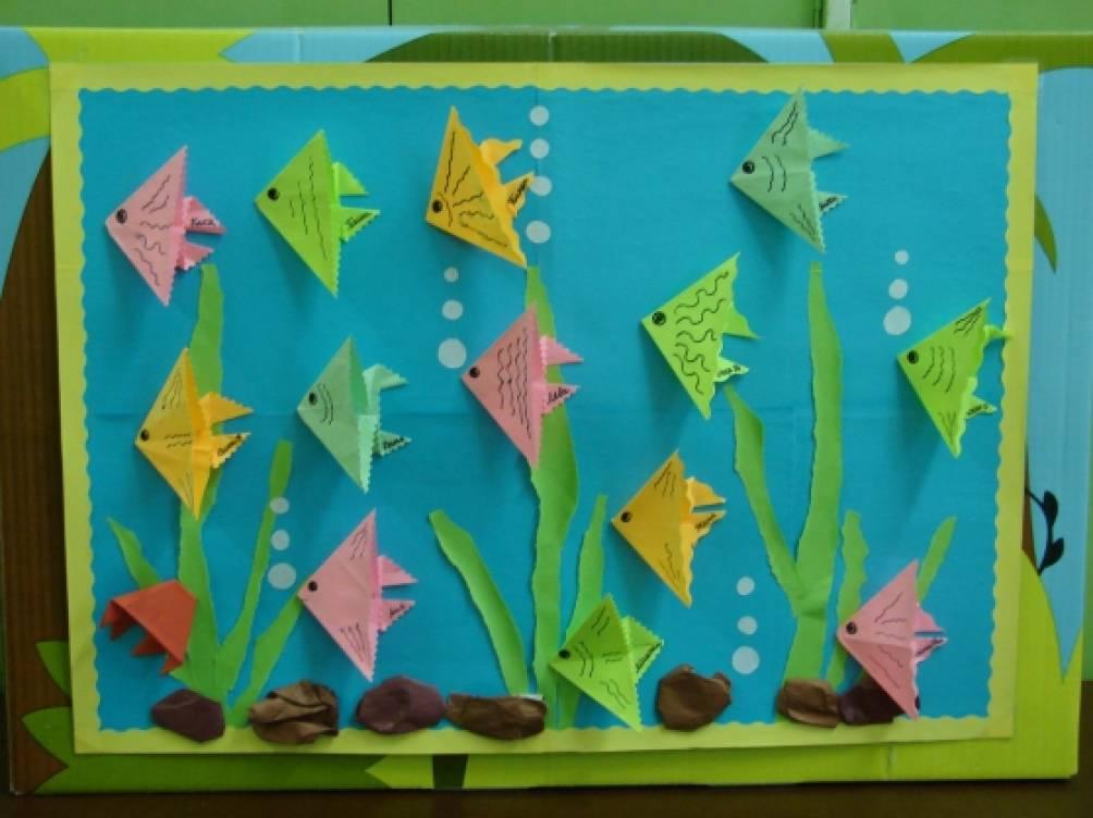 Работа с оригами