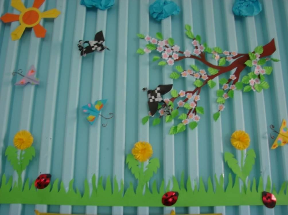 Украсить группу в детском саду своими руками к новому году фото