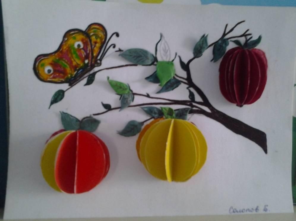 Поделки для детей к яблочному спасу 84