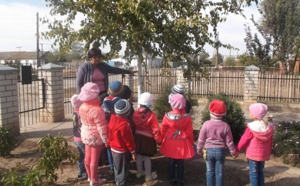 занятие для дошкольников знакомство с осенью