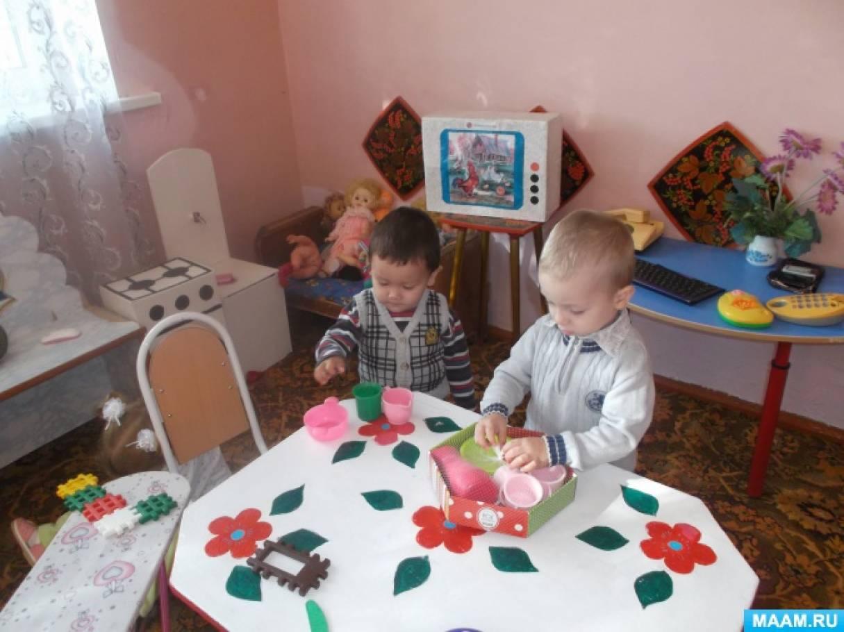 родительское собрание в группе раннего возраста давайте знакомиться