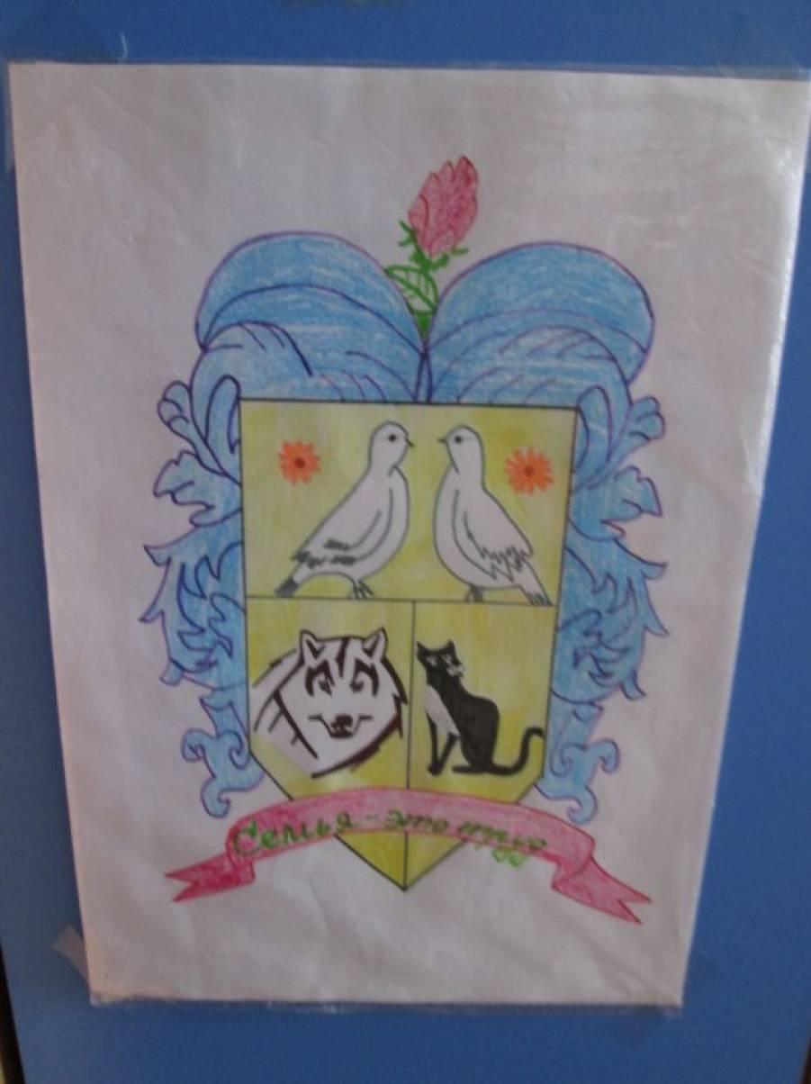 Флаг семьи фото