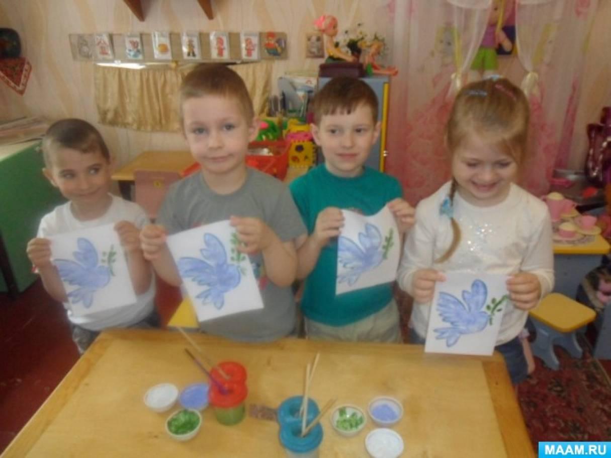 Голуби зимой картинки для детей