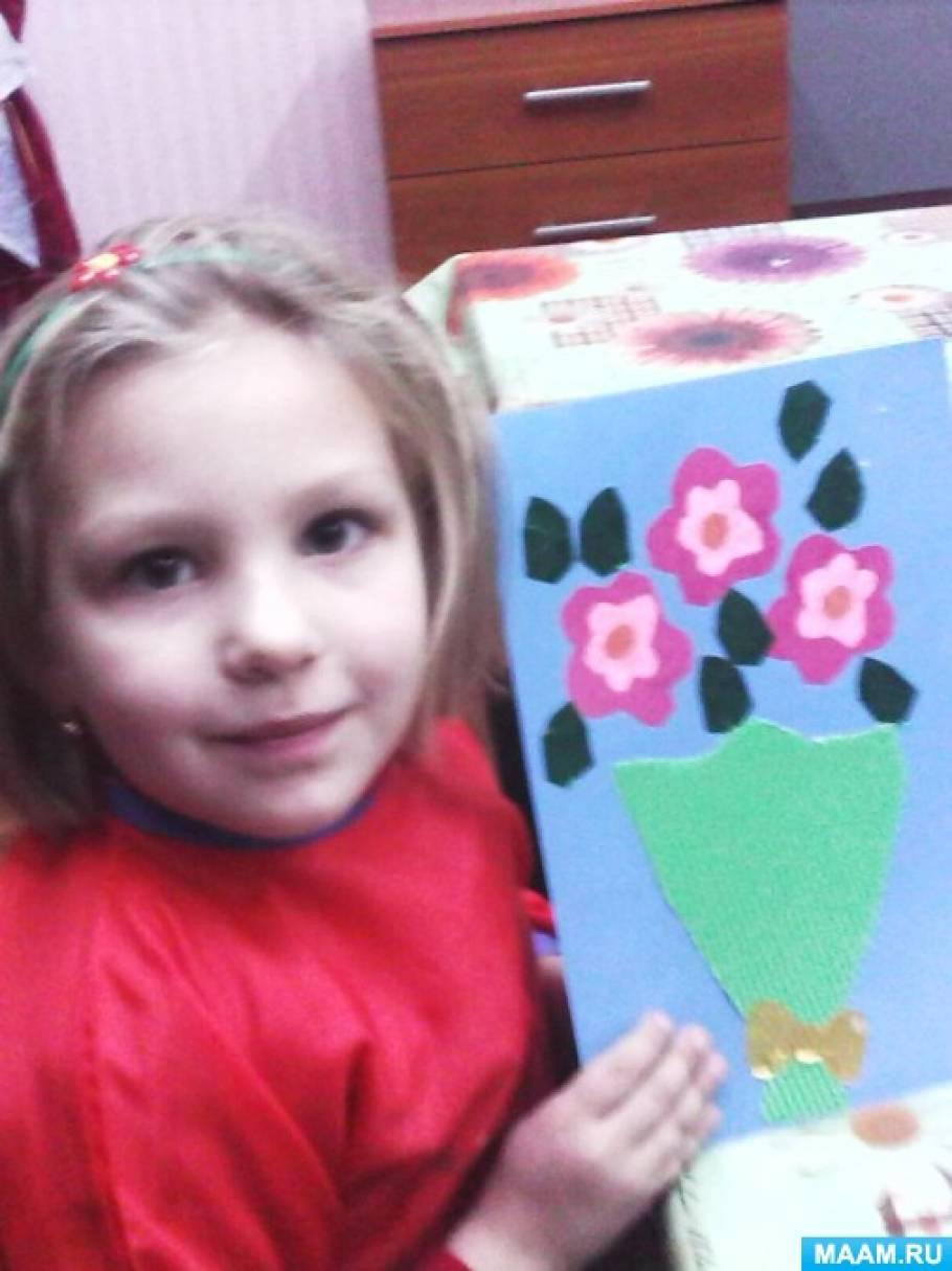 Подарки учащихся к празднику «День Матери»