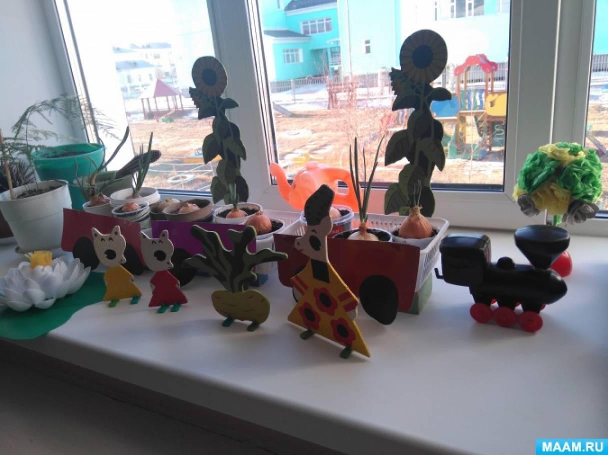 Фотоотчет о краткосрочном проекте «Огород на окне»
