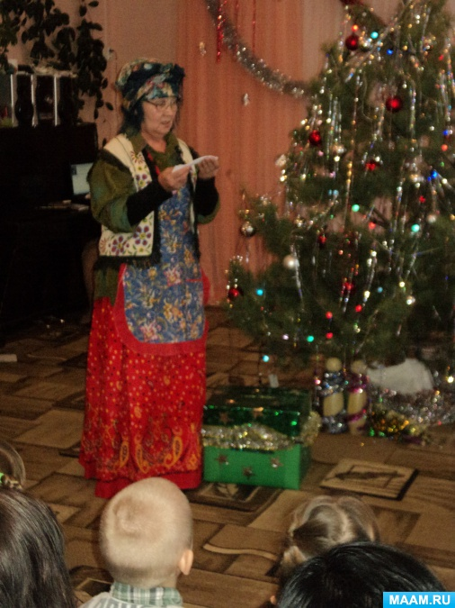 Сценарии новогодних праздников в детском саду в средней группе