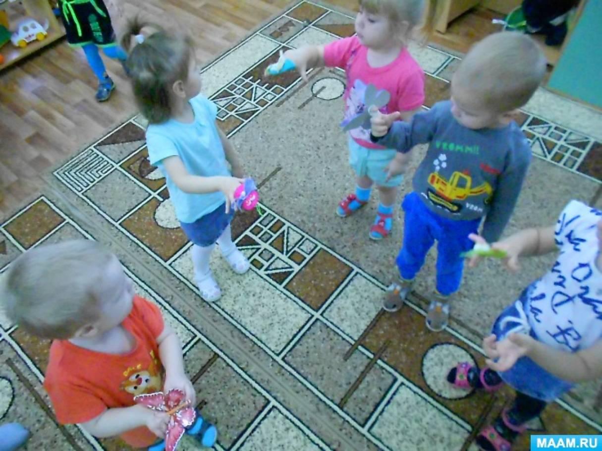 Образовательная деятельность по звуковой культуре речи в первой младшей группе «Поиграем с комариком и лягушкой»