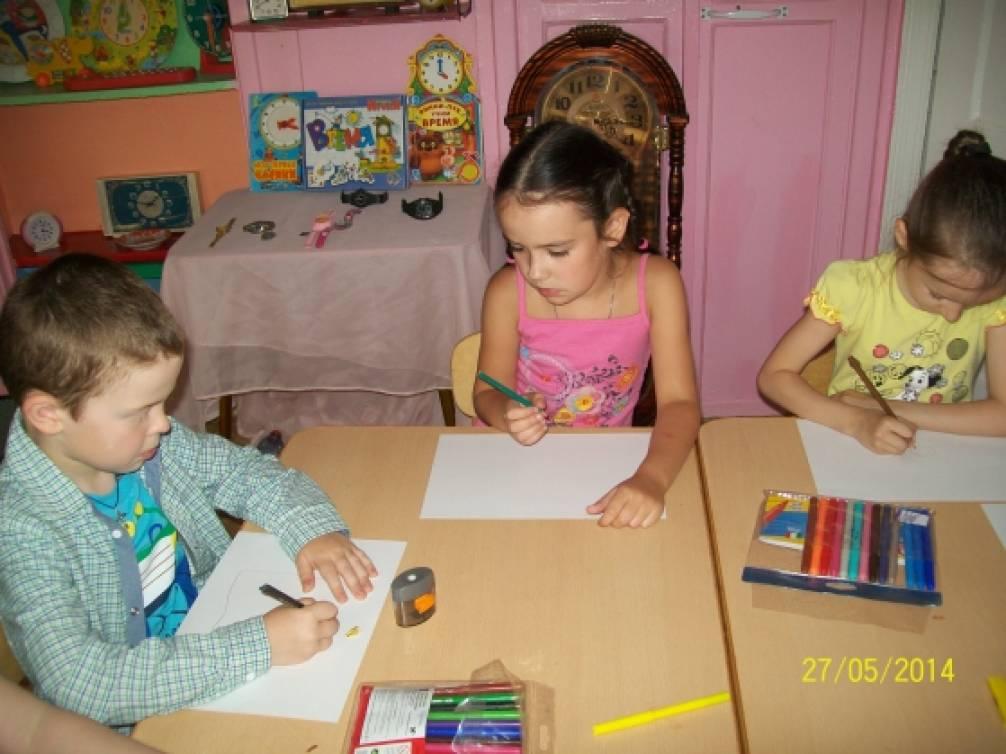 знакомство с часами для детей 6 7 лет