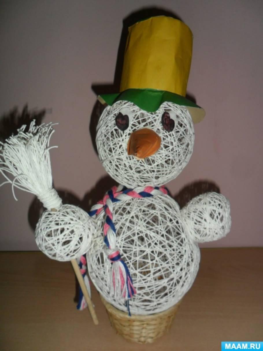 Мастер-класс «Снеговик»