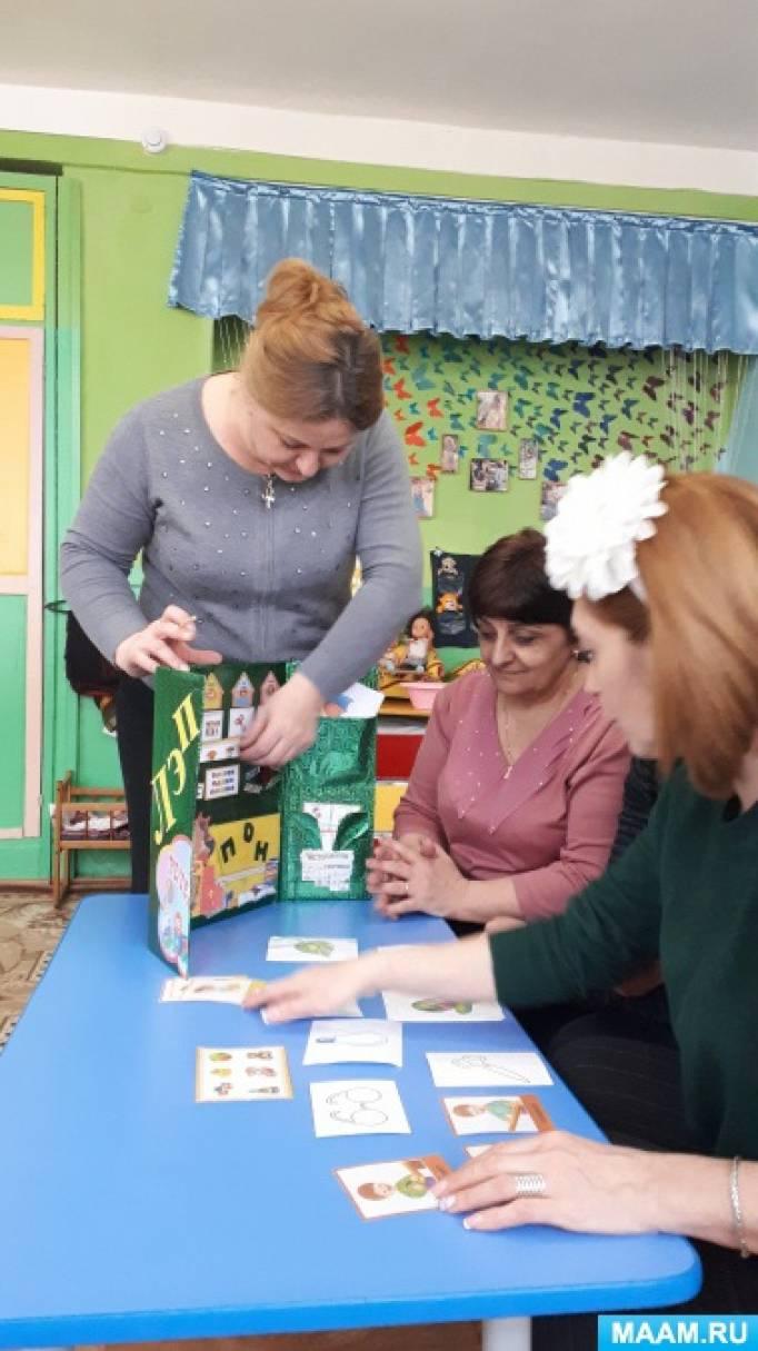 Лэпбук — занимательная форма организации деятельности детей
