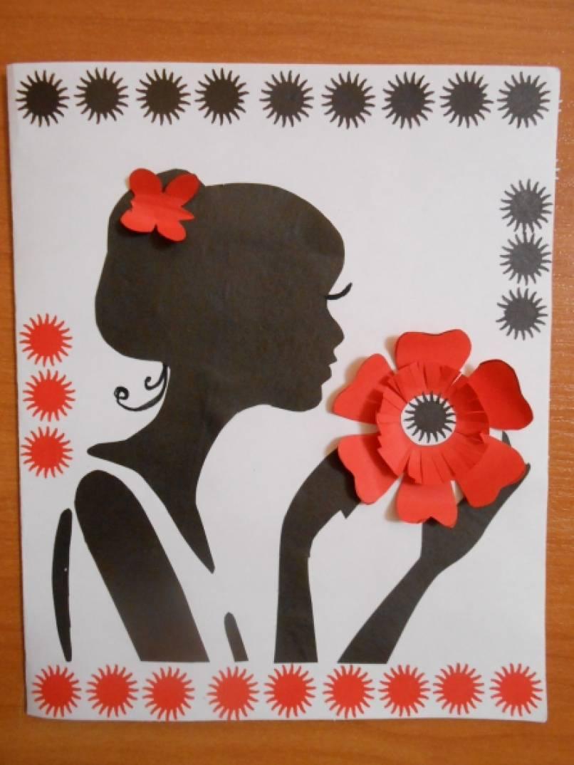 Поделки своими руками на день матери оригинальные открытки