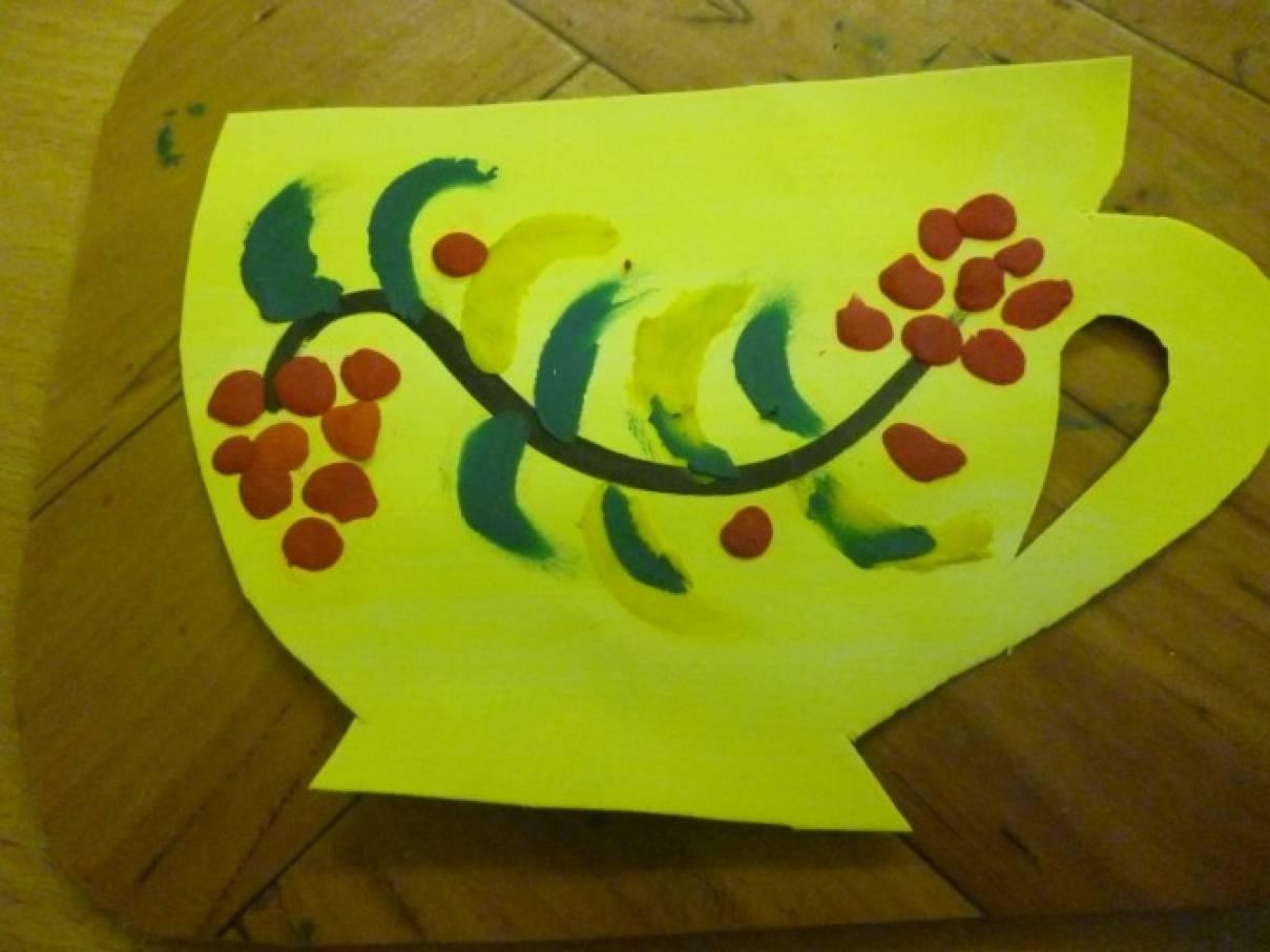 Рисование пластилином картинки шаблоны хохлома, днем
