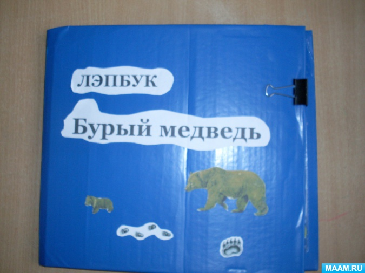 Лэпбук «Бурый медведь».