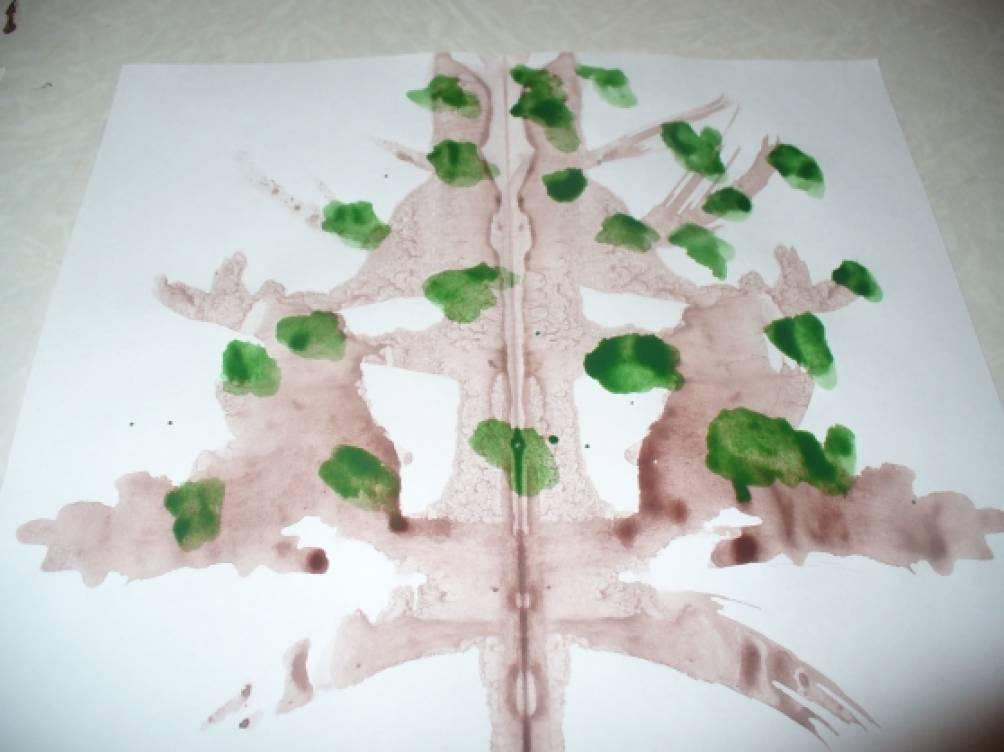 знакомство с деревом в детском саду