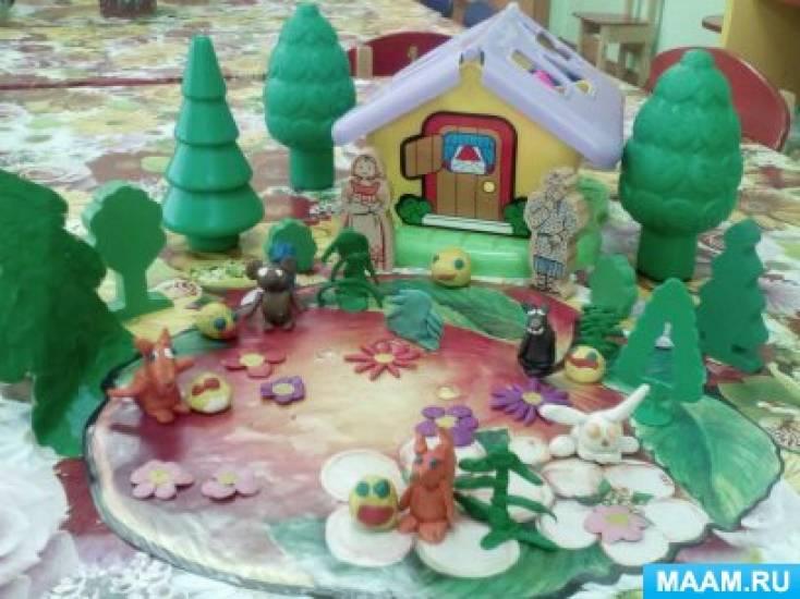 Творческий проект «Путешествие по русским народным сказкам» для детей среднего дошкольного возраста