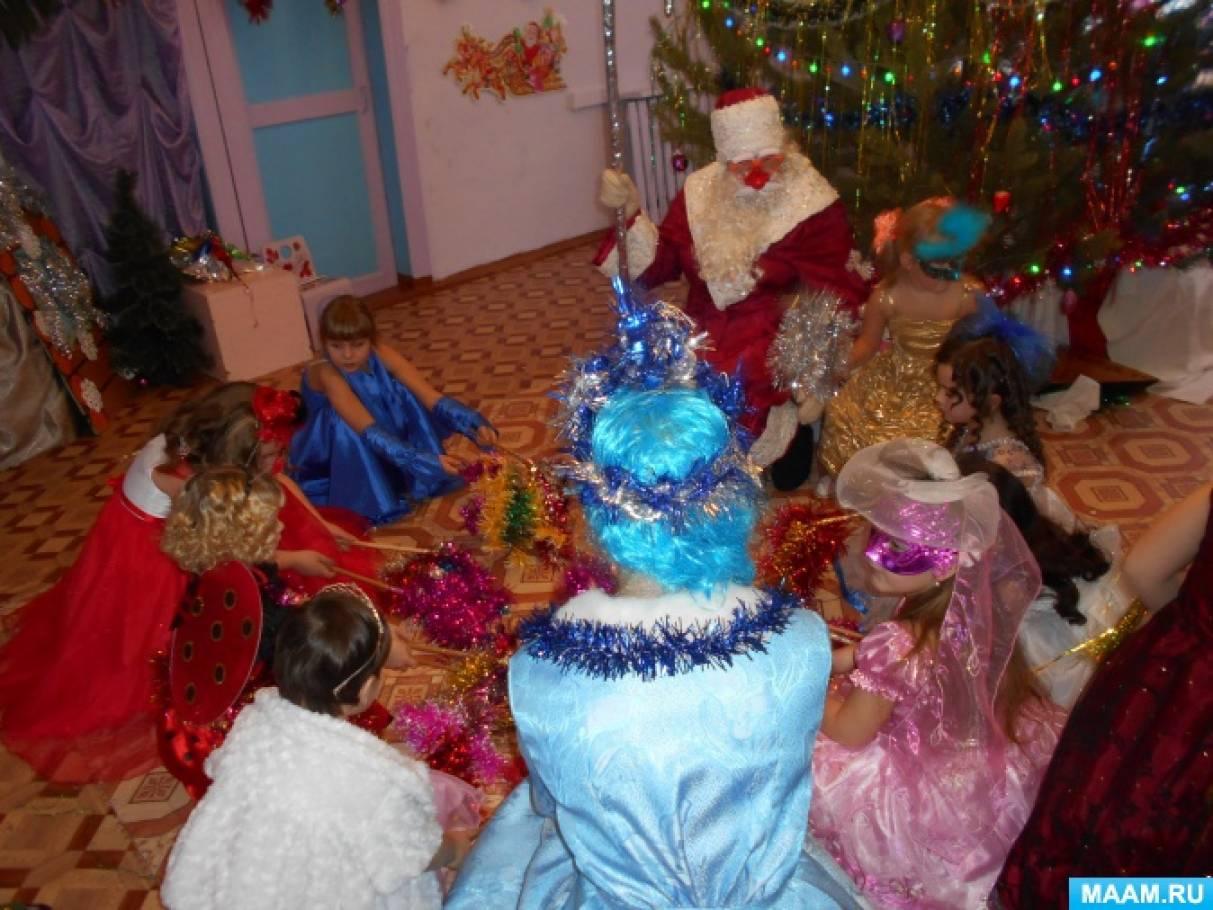 Сценарий на новогоднее представление детям