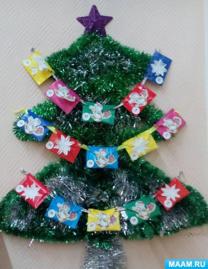 Изготовление календаря «В ожидании новогоднего праздника»