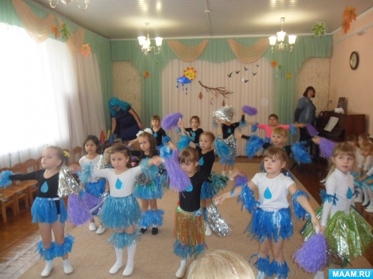 Сценарий экологического праздника для детей старшего дошкольного возраста «Царица-Водица»